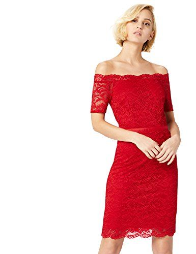 bb9ebe9a6dc TRUTH   FABLE DR300599 robes de soirée Rouge (Red) 34 (Taille Fabricant