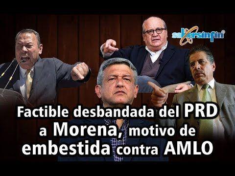 Factible desbandada del PRD a Morena, motivo de embestida contra AMLO (Vídeo)