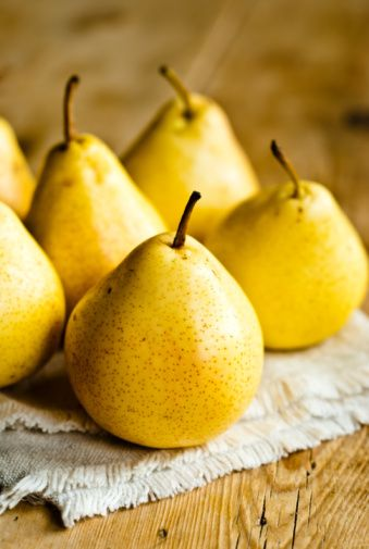 Yellow Pears:  Sinead Lawless via Suzanne Jolly Repinned 7 days ago from Fruit, Beautiful Fruit