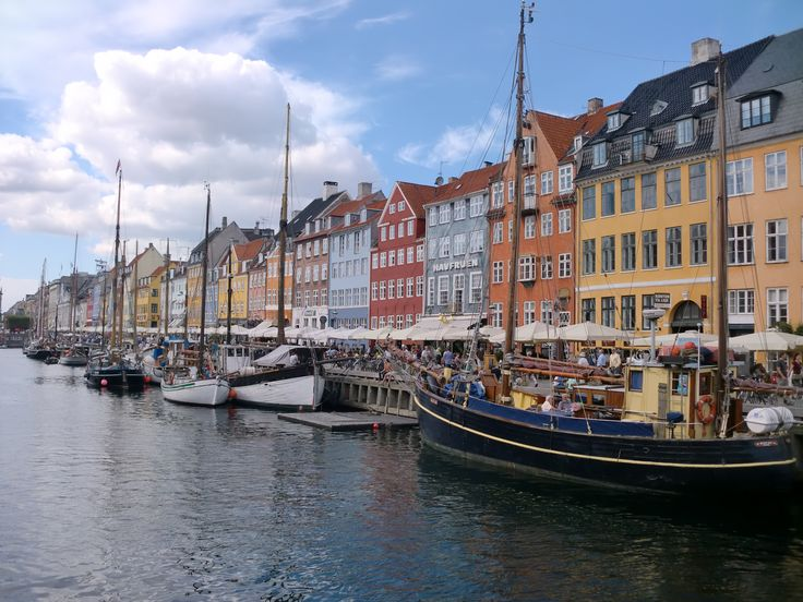 Nyhavn, Copenhagen! Perfect place to end a long day, especially during summer!