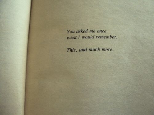 the dedication page of The Joy Luck Club...such a good book