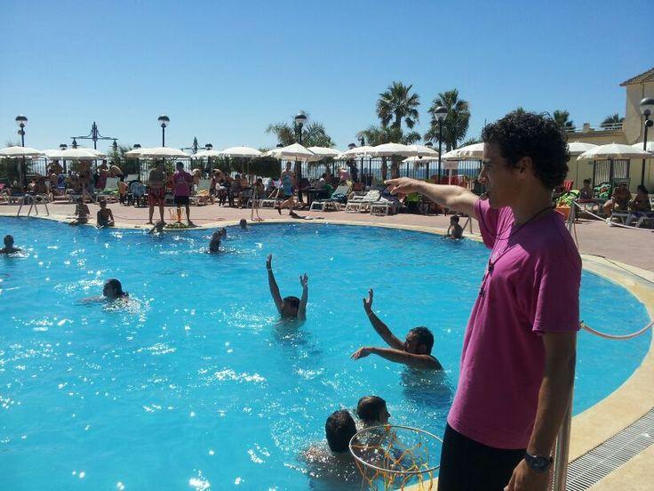 Animación Turística: Water Basket www.alade3.es