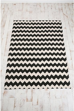 Urban Outfitters Zig Zag rug. Unbelievable price & several colors