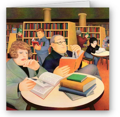 Beryl Cook - Public Library