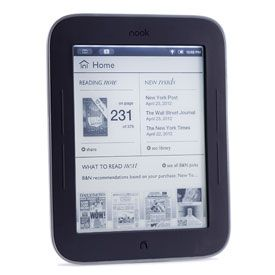 Barnes & Noble Nook Simple Touch With GlowLight - 4.5 out of 5 stars: Glowlight 79 99, Microsoft S Barnes, Drops Nook, Glowlight Review, Morning, Simple Touch