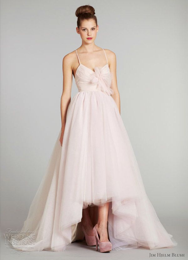 17 best images about blush pink silver cream champagne for Silver and red wedding dresses