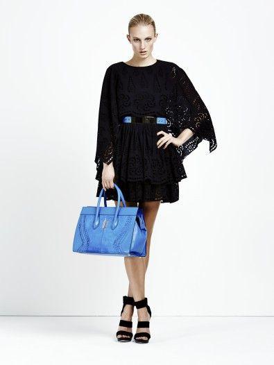 black cotton lace dress Dimitri Online Shop
