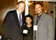 Former Governor of New York & 2016 Presidential Candidate George E Pataki & NYS Assembly candidate Keisha C Morrisey, with Dana Moss