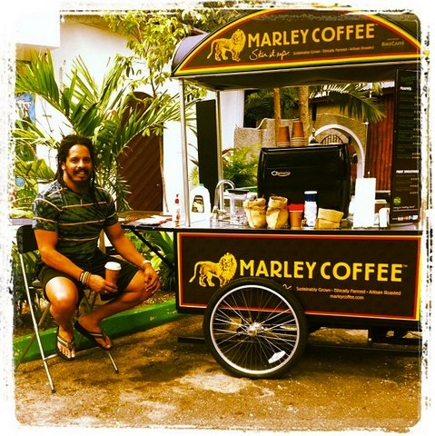 Rohan, the man behind delicious Marley Coffee