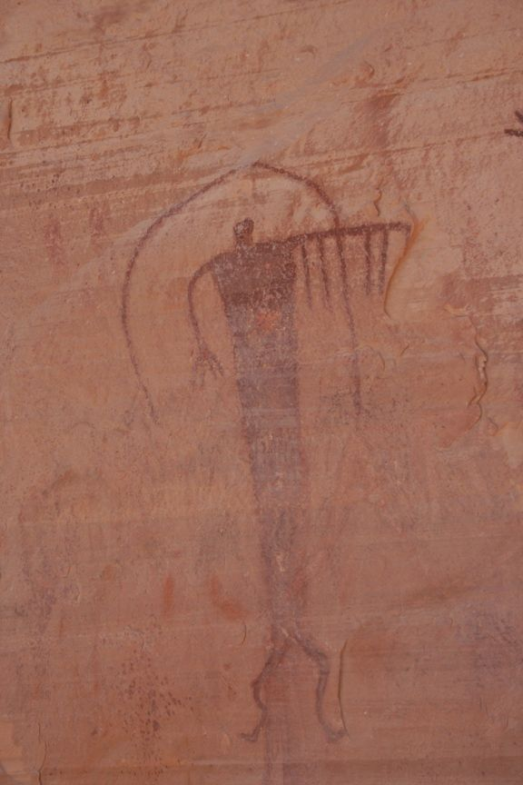 http://upload.wikimedia.org/wikipedia/commons/e/e2/Buckhorn_12_2008.JPG Detail of the Fremont culture Buckhorn Draw Pictograph Panel (Fremont culture), in the San Rafael Swell, Emery County, Utah.
