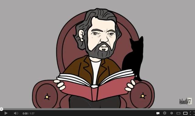 Capítullo 7. Toco tu boca, Julio Cortázar. Vídeo #Rayuela #novela #Cortázar