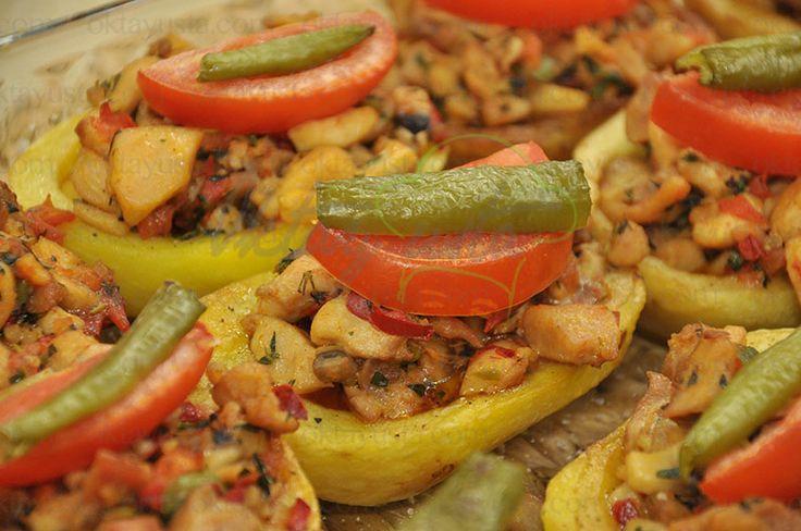 Tavuklu Patates Dolması | Oktay Usta [ Resmi Web Sitesi ]