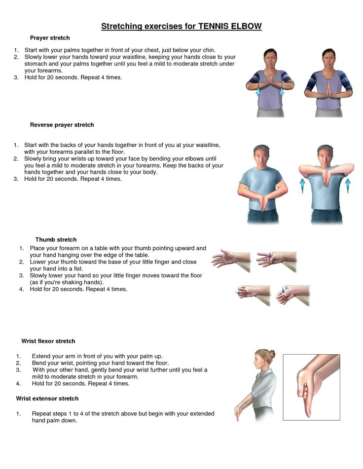 1000+ images about Tennis elbow exercises on Pinterest ...