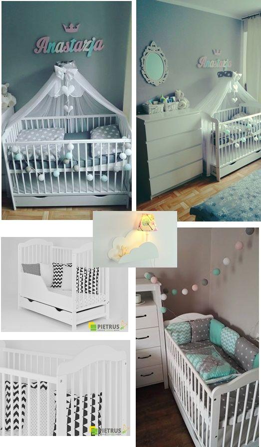 Cudne łóżeczko tapczanik ALEK to dowód na to że klasyczne łóżeczko również może pięknie prezentować się w pokoiku niemowlaka  :) W mamaania.com.pl znajdą Państwo łóżeczka w różnych kolorach, z szufladą lub bez oraz  barierkę do funkcji tapczanika.