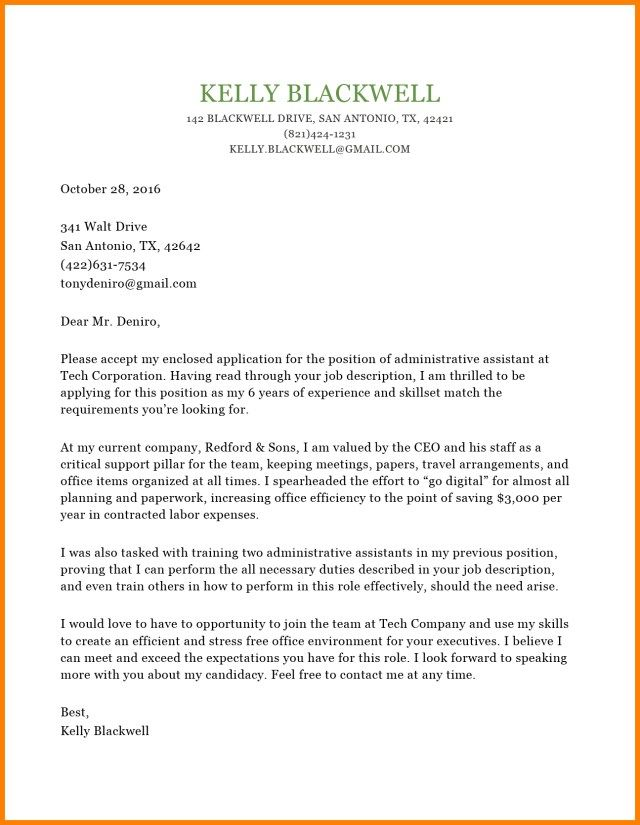 25+ Cover Letter Generator Cover Letter Examples For Job Cover