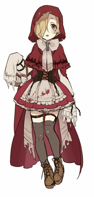 Caperucita Roja Anime Zombie Anime Poses Anime Characters
