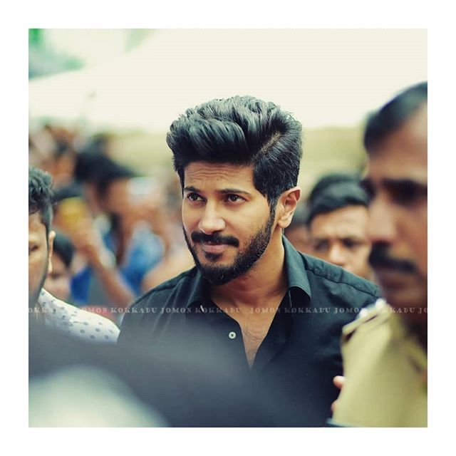Stylish Entry Dulquersalmaan Indian Hairstyles Men Hair And Beard Styles Beard Styles