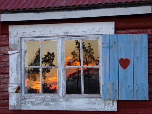 Sunset Reflection, Geta, Åland --Åland consists of 6757 islands situated midway between Sweden and Finland. Although the people of Åland speak Swedish, this autonomous territory is part of FINLAND.