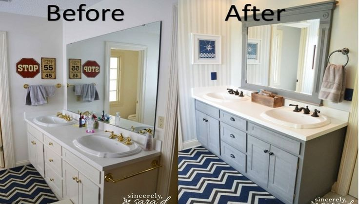 Image result for cheap bathroom makeover