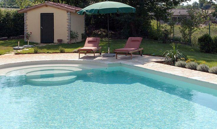 Istrien, Kroatien: Es gibt Ferienhäuser die wie ein Ei dem anderen gleichen. Und es gibt Unikate. Dieses Ferienhaus mit Pool ist definitiv ein Unikat.