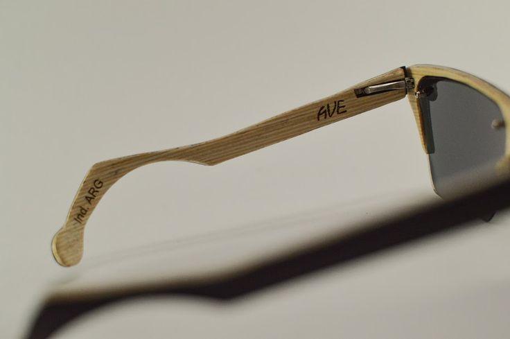Wooden Sunglasses made in Cordoba, Argentina. Anteojos de Sol de Madera hechos en Cordoba, Argentina.