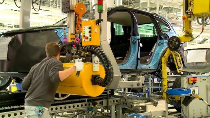 VW Touareg 2015 Assembly Line & Production