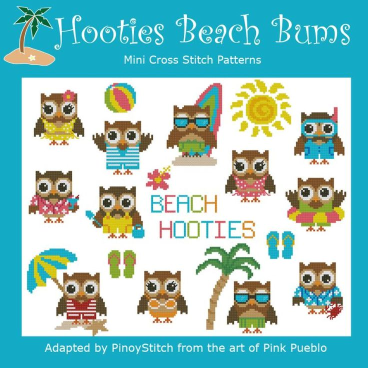 Hooties Beach Bums Collection