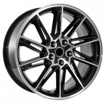 18 inch Black w/ Machined Face Volkswagen wheels will fit -------> CC (2009-2013) | EOS (2007-2013) | GTI (2006-2013) | Jetta (2006-2013) | Passat (1998-2013) | Rabbitt (2007-2009) | Tiguan (2009-2013)