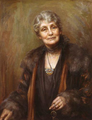 Emmeline Pankhurst by Georgina Agnes Brackenbury, 1927. NPG.