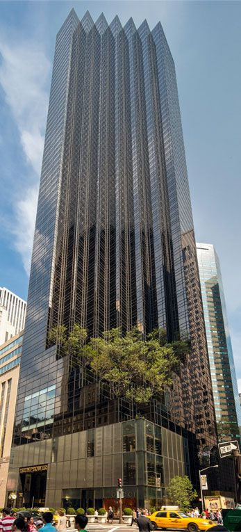 Here's a nice view of the Trump Tower. #architecture #design #TrumpTower #NYC #NewYorkCity