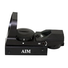 3 Aim Sports Red Dot Sight with 4 Different Reticles