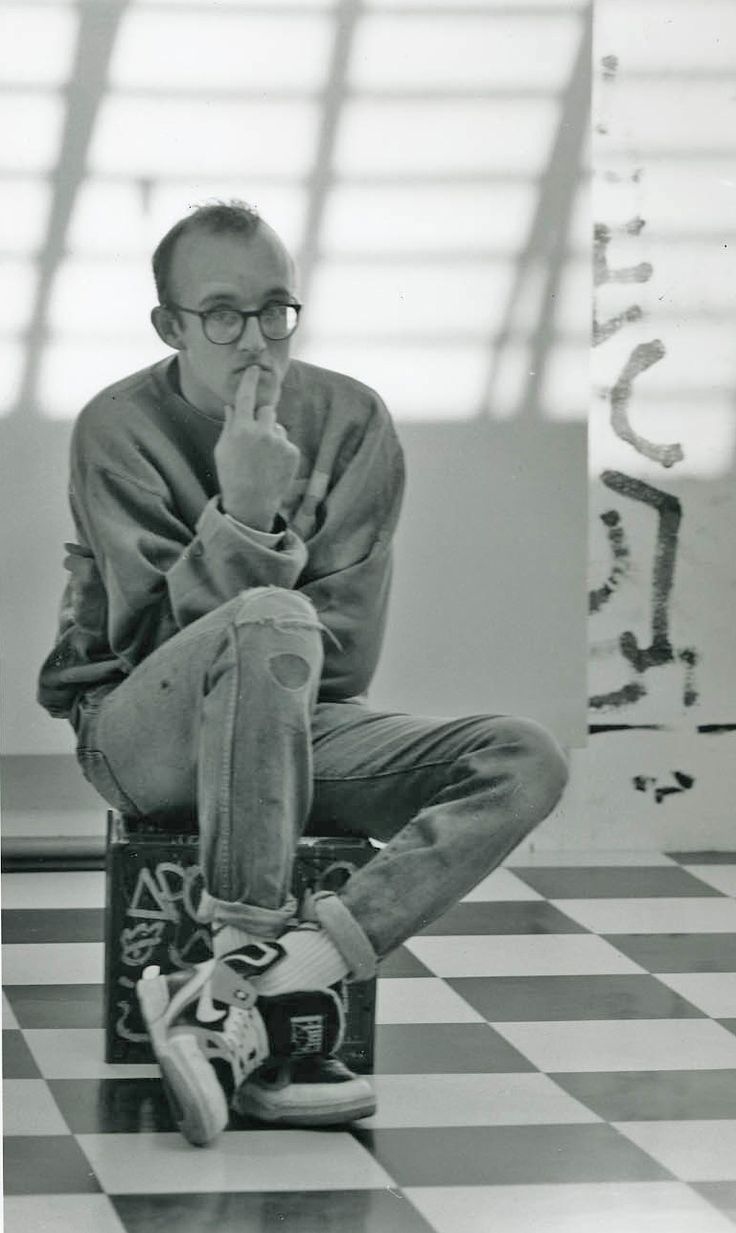 Keith Haring... I would like to thank my art teacher Ms. Richardson for introducing me to such an incredible human