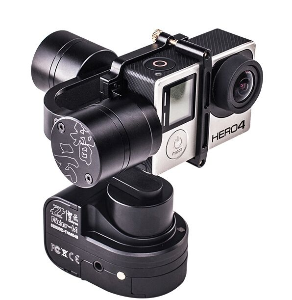 320.00$  Buy here - http://alis3h.worldwells.pw/go.php?t=32653966426 - F16639 Zhiyun Z1 Rider M 3-axle Wearable Camera Gimbal WG Stabilizer Support APP Wireless Remote Control for GoPro Hero 3 3+ 4