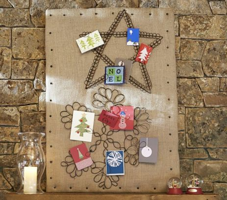 17 best images about christmas card display ideas on pinterest pottery barn kids creative. Black Bedroom Furniture Sets. Home Design Ideas