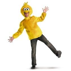 Mens Sesame Street Big Bird Costume www.grabevery.com