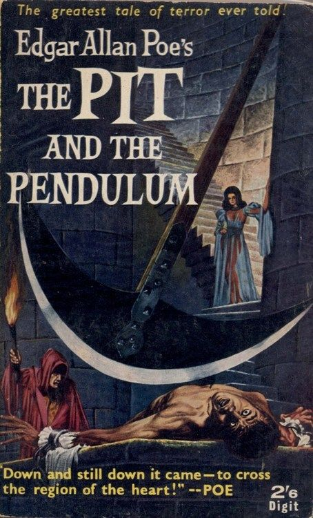 the theme of horror in the pit and the pendulum by edgar allan poe Poe's short stories edgar allan poe share  the pit and the pendulum  the horror story: introduction to the pit and the pendulum and the masque of the red .