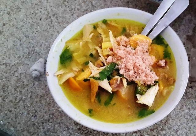 Soto Ayam Lamongan Cak Har Resep Sup Masakan Makanan