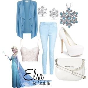 Elsa Inspired Outfit