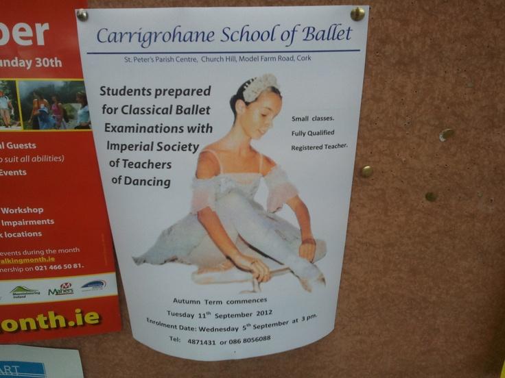Carrigrohane Ballet classes
