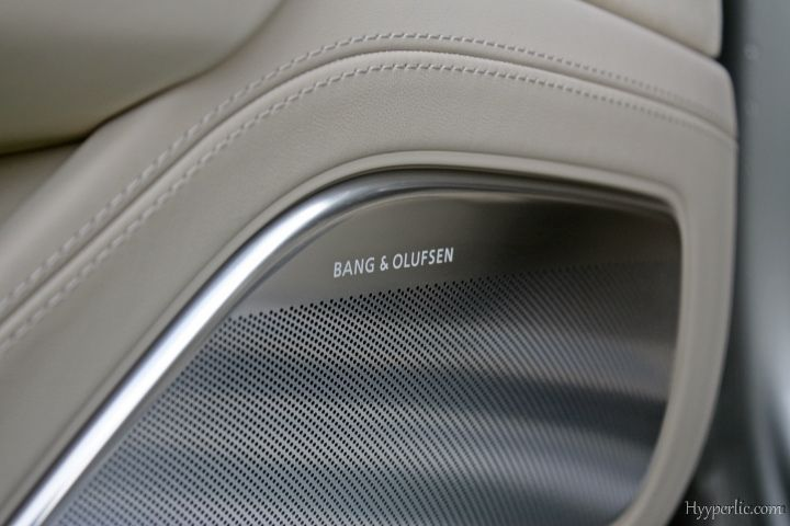 Bang & Olufsen Audi A8 4.0 TFSI 2013 2014 Cuvee Silber