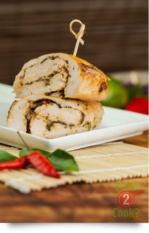 Thai Chicken pinwheels with Thai Seasoning