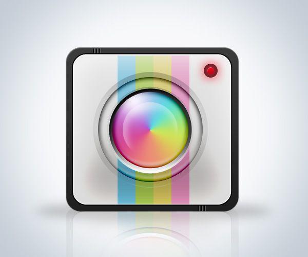 Create A Camera App Icon In DeltronStudio