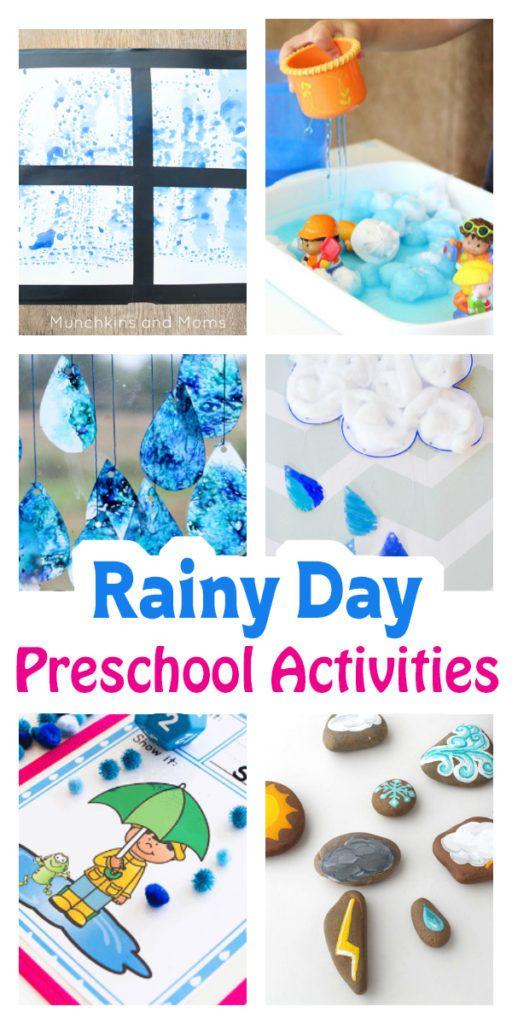Rainy Day Preschool Activities