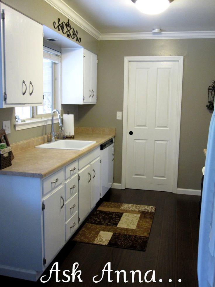 Como pintar los muebles de una cocina reciclar muebles - Pintar encimera cocina ...