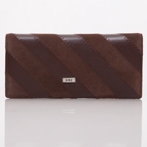 Brown Stripes Wallet - DNC   IDR 175.000