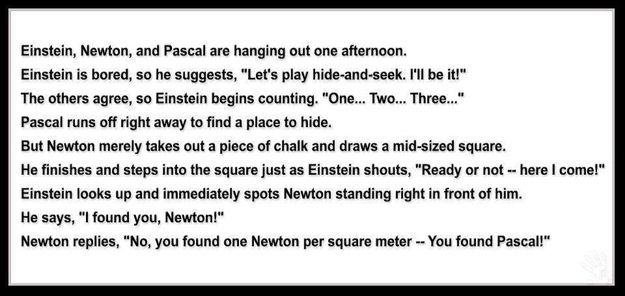 Winning due to a technicality | Community Post: 20 Spectacularly Nerdy Science Jokes