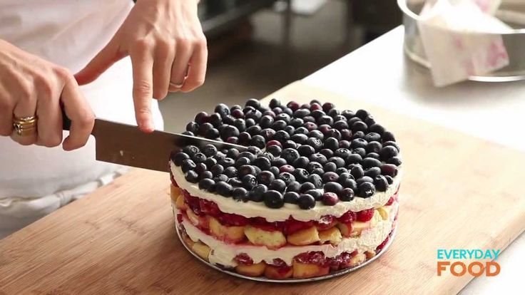 Red, White, and Blue Berry Trifle | Everyday Food with Sarah Carey
