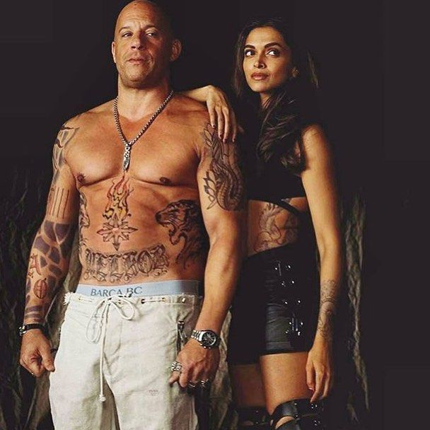 Omg! So hot  Deepika Padukone as Serena and Vin Diesel as Xander in XXX The Return Of Xander Cage! .  Are you guys excited for this movie?? .  #deepikapadukone #vindiesel #xandercagereturns #picoftheday #photooftheday #hot #hotcouple #likeforlike #followforfollow #nofilter #chiseled #instadaily #instagramhub #instagood #instamood #instalove #me #nofilter #vscocam