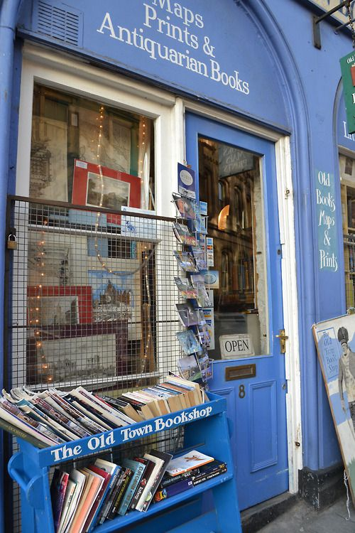 The Old Town Bookstore ~ Edinburgh, Scotland
