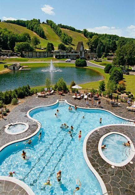 """From Midwest Living's """"44 Midwest Resorts We Love"""".  Our favorite Midwest resort destinations range from cozy lakeside lodges to indoor water park behemoths. Dive in to check out our top picks."""